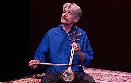 Kayhan Kalhor playing his kamancheh